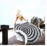 Protezione etnica rotonda chiffona 150cm del tovagliolo di spiaggia di Sun di estate delle donne