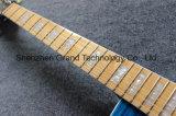 DIY Kits de guitarra lp/Personalizado Lp guitarra eléctrica em azul (BPL-515)