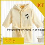 La personalización de manga larga algodón Toalla con capucha niños bebé batas