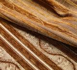 털실은 250-400 GSM 셔닐 실에 의하여 뜨개질을 한 자카드 직물 직물을 염색했다