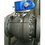 Aufspalten-Karosserie Wcb industrielles Drehzapfen-Kugelventil