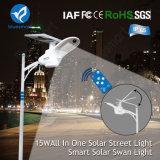 la luz de calle solar directa de la fábrica 2700lm con Ce certificó
