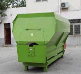 動物の昇給のための使用されたTmrの水平送りのミキサーワゴン機械