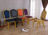 O Hotel mais popular Restaurante Casamento Igreja empilháveis banquetes cadeira da Igreja de Metal