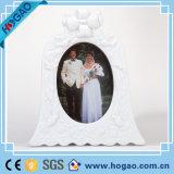 Retro 포도 수확 백색 로즈 꽃 결혼식 장식 수지 사진 프레임 수지