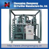 Dispositivo da recuperação do petróleo do transformador do desperdício do vácuo do Dobro-Estágio/dispositivo purificação de petróleo