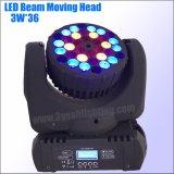 Stadiums-bewegliches Hauptlicht des LED-Wäsche-Träger-RGBW