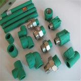 최신과 찬 식용수 공급 독일 표준 녹색 플라스틱 PPR 관 이음쇠
