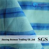 2016hot Item— 12mm 20%Silk 80%Cotton nel tessuto della camicia della banda blu