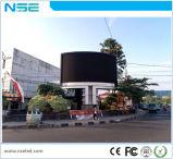 Indicador de diodo emissor de luz ao ar livre da cor P10 cheia para anunciar na cidade