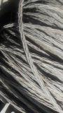 땋아진 직류 전기를 통한 철강선 밧줄을 반대로 뒤틀기