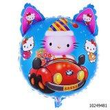 La historieta inflable de la aprobación En71 juega hola el globo inflable del gatito (10222022)