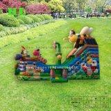 아이를 위한 위락 공원 해적 배 팽창식 성곽
