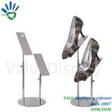 Zapatos de metal de stands, pantalla de visualización de zapatos Zapatos de rack, titular de la pantalla