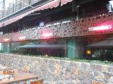 Chauffage infrarouge Chauffage électrique Chauffage mural extérieur avec télécommande 2000W