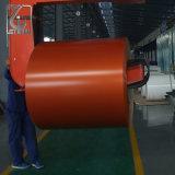 Красный цвет покрыл стальную катушку с умеренной ценой для украшения