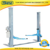 Dayang Qjy4d équipement de levage de voiture à deux postes de 4 tonnes de garage avec verrouillage manuel