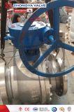 Endlosschrauben-gangbetriebenes industrielles Flansch-Kugelventil API-300lb