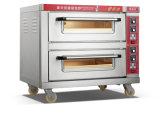 商業標準電気デッキのオーブン2のデッキ2の皿の食糧装置