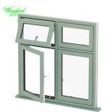 لون بيضاء مفتوح خارجيّ فينيل نافذة معدنة نافذة تصميم