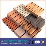 Pannello acustico di legno dell'isolamento acustico della sala