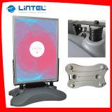 De aluminio de doble cara LED soporte del cartel tablero de la muestra al aire libre (LT-10J-A)