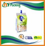 プラスチックジュースの包装のための口の食糧レトルト袋を立てなさい