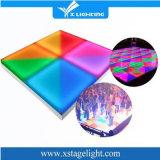 Het Bloeien van de Verlichting DMX van de disco RGB Kleurrijke Draagbare LEIDEN Dance Floor voor de Partij van het Huwelijk