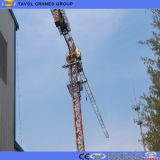Grue à tour de torse nu de Qtz80 (5513) 160m pour la construction