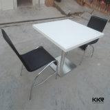 Tabela de jantar - pedra artificial, tabela de assento de 4 pessoas