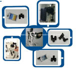 De Adapter van de Fotografie van de Lamp van de spleet voor Slimme Telefoon (iPhone, Samsung, LG)
