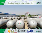 3 semirimorchio dell'autocisterna del gas degli assi 50 000liters GPL con l'ente spesso dell'autocisterna