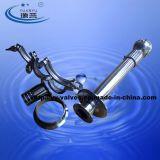 Medidas sanitarias abrazadera doble bola de pulverización giratorio