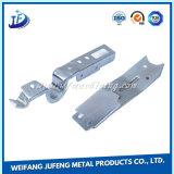 Carimbo de precisão de alumínio e peças de solda com Eletrodeposição