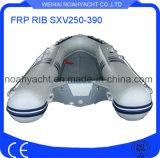 Barche gonfiabili rigide con il guscio della vetroresina V