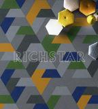 Nylon Carpet Tile с Затыловкой-Puzzle PVC