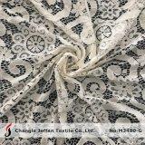 服材料(M3480-G)のための新しいナイロンファブリック綿のレース