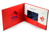 Высокое качество изображения формата A4 10-дюймовый видео брошюра