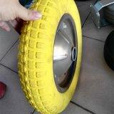 3.50-8 외바퀴 손수레를 위한 단단한 PU 거품 바퀴