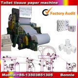 Maquinaria de la toalla de la servilleta de papel, papel usado que recicla la máquina