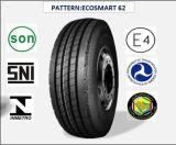 Tous les pneus radiaux en acier de camion et de bus avec le certificat 295/60r22.5 (ECOSMART 62) de CEE