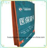 薄板になる習慣はギフトの包装のショッピングNonwoven袋を畳む