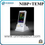Monitor de SpO2 Oxímetro oxímetro de pulso portátil de mão com PANI&Temp
