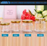 mini choc en verre de Cubilose de confiture de miel de 35ml 50ml pour le mariage