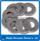 Arandela plana de la máquina industrial galvanizada o de cobre amarillo del acero inoxidable