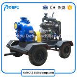 De Pomp van de Dunne modder van de Dieselmotor van de Overdracht van de Riolering van de hoge Capaciteit met Aanhangwagens
