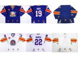 Настроить Colorado Echl Орлов мужская дети женщин Joey стороны Майк Marcou наилучшее качество дешевые синий белый хоккей футболках Nikeid Goalit горячей резки продажи