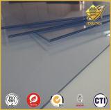 Hoja rígida de PVC utilizado para la impresión y plegado de verificación