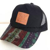 Chapeau fait sur commande de Snapback de coton de loisirs de la broderie 3D