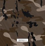 Outdooritemsおよび車および銃(BDF43-2)のための葉のCamoパターンPVAフィルム